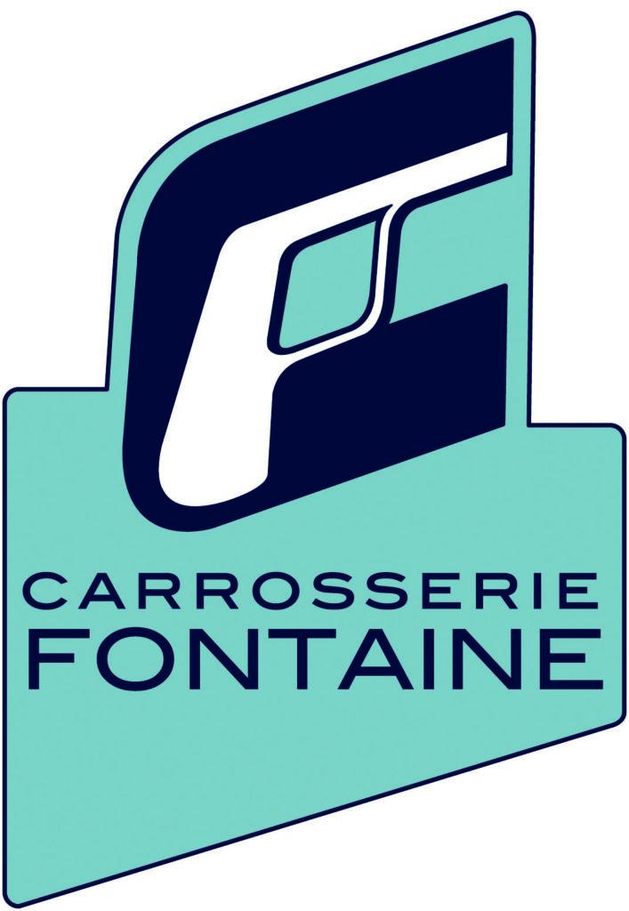 logo carrosserie fontaine bleu